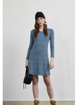 Vestido xantik easy azul