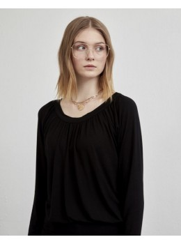 Camiseta xantik barco negra