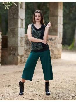 Pantalones 3/4 verdes