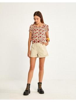 Camiseta goma amapola