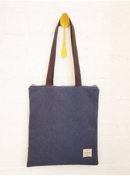 Bolso rectangular numon azul