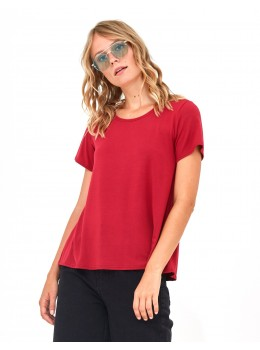 Camiseta Xantik vol m/c vermella