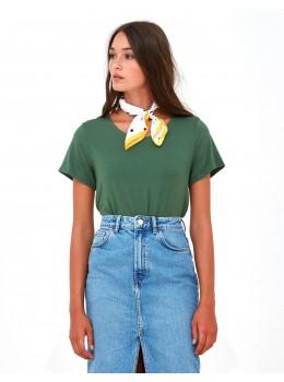 Camiseta Xantik vol m/c verda