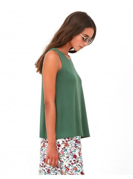 Camiseta Xantik vuelo s/m verde