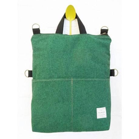 Mochila / Bolso Numon verde