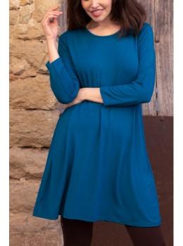 Vestido Lingam chandra azul