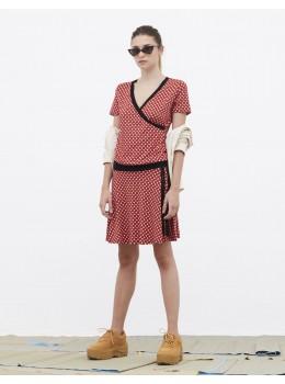 Vestido xantik lazo red
