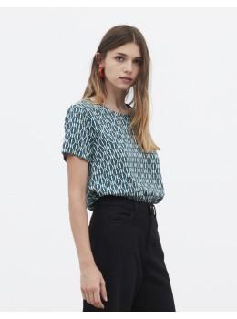 Camiseta xantik easy m/c blue