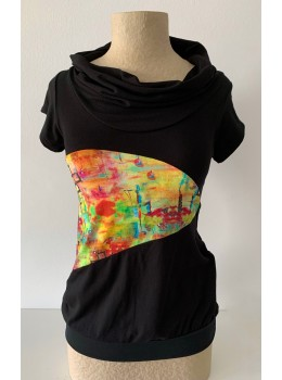 Camiseta m/c coll combi colores