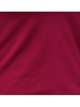 Camiseta m/c cuello redondo granate